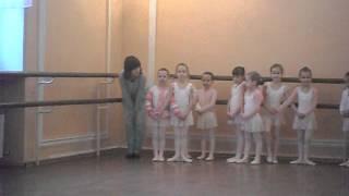 юные балерины