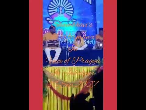 Shambhavi's public Performance