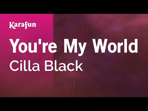 Karaoke You're My World - Cilla Black *