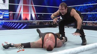 After battling Dean Ambrose, The Undertaker feels the brutal wrath of The Shield: SmackDown