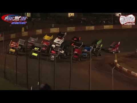 USCS Sprints Feature Dixie Speedway 7/14/18!