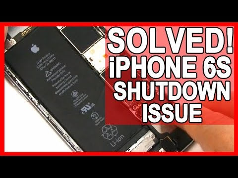 iPhone 6S Unexpected Shutdown Issues - Solved Shutdown Gate