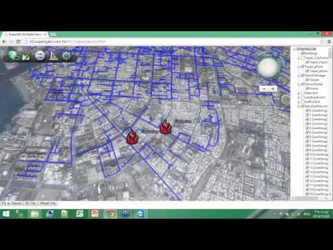 SuperGIS Webinar - Responding to Natural and Urban Environment Changes with 3D GIS