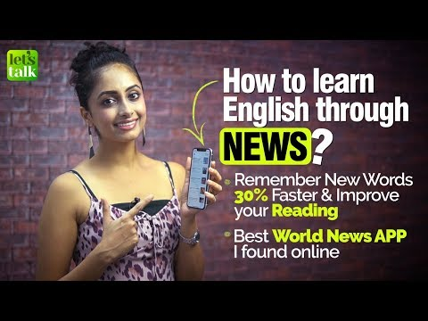 How To Learn & Remember New English Words Daily Through A News App   Business English Vocabulary