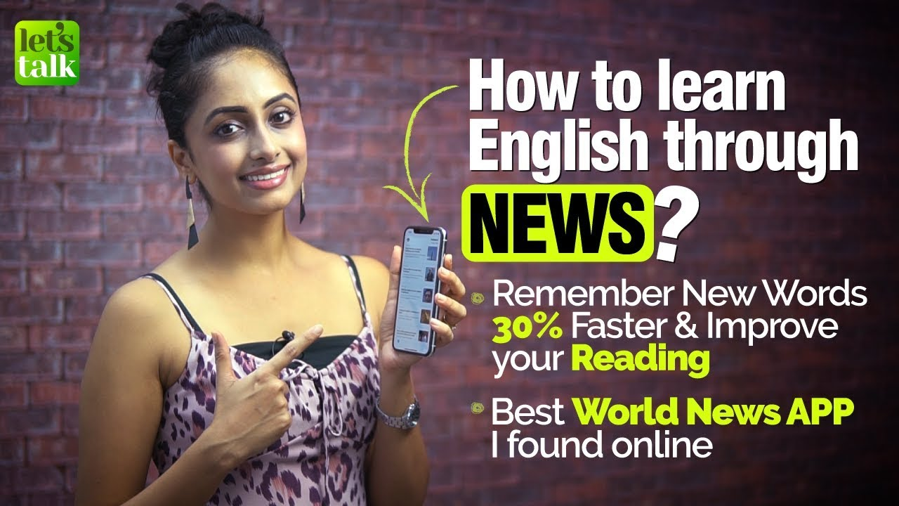 How to Learn & Remember New English Words Daily through a News App |  Business English Vocabulary