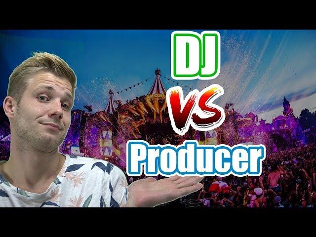 Verschil tussen DJ en Producer