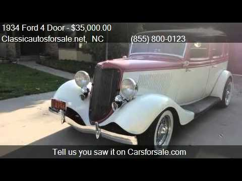 1934 ford 4 door for sale in nationwide nc 27603 at for 1934 ford 4 door for sale