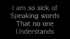 Evanescence - Where Will You Go Lyrics