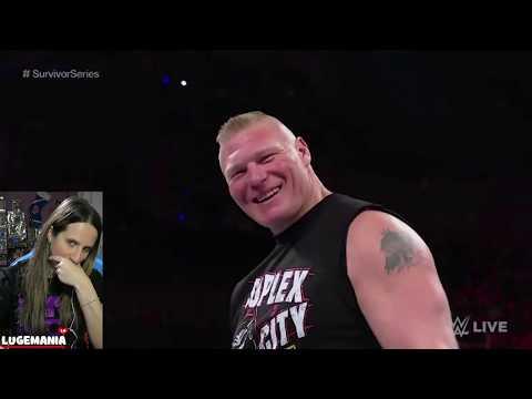WWE Raw 11/12/18 Brock Lesnar Shanti