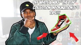HOW TO GET THE OFF-WHITE x NIKE