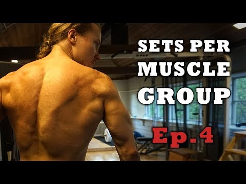 How Many Sets Per Muscle Group Should You Do To Build Muscle