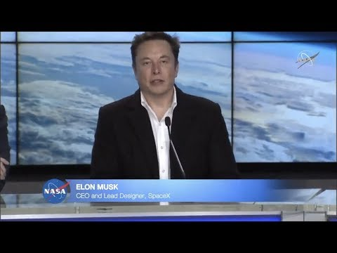 Elon Musk talks about Crew Dragon Demo-1 Mission