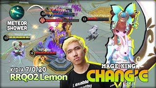 Chang'e Rework?! Worth it? RRQO2 Lemon ft aaa8azt Top 1 Global Kimmy ~ Mobile Legends