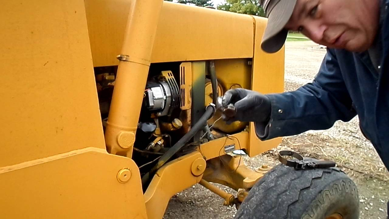 John Deere 310a Oil Air And Fuel Filter Change Youtube Filters
