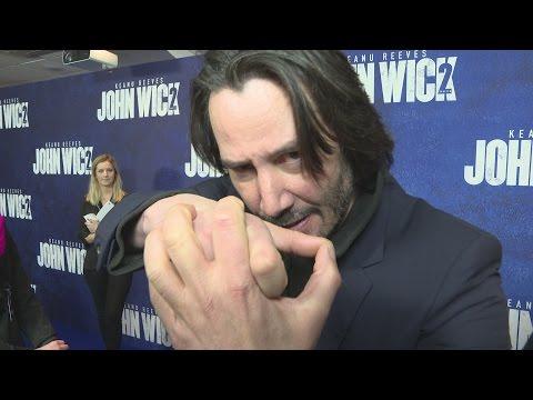 John Wick 2 premiere: Keanu Reeves is a ballerina!