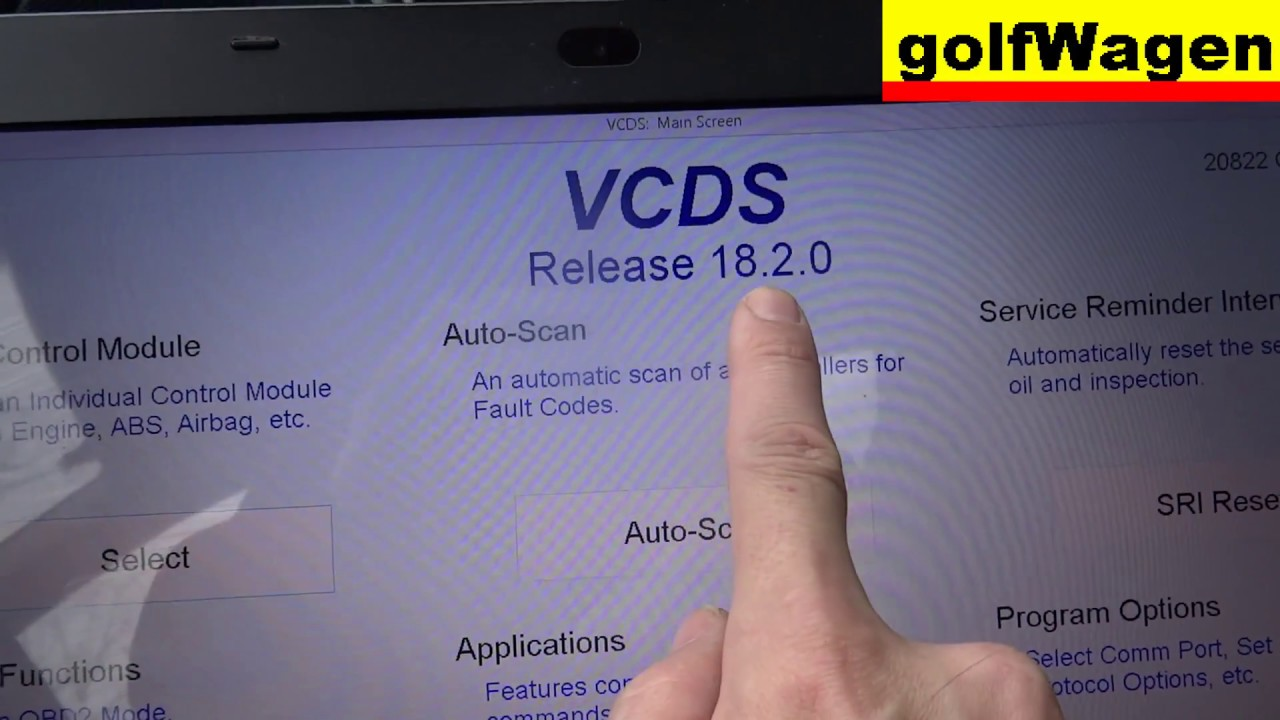 VCDS-VAG Release 18 2 0 how to update / download eng language