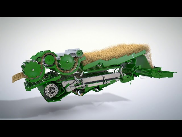 John Deere | T Serie Maaidorser - Threshing Systeem