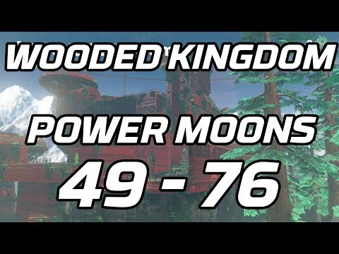 [Super Mario Odyssey] Wooded Kingdom Post Game Power Moons 49 - 76 Guide