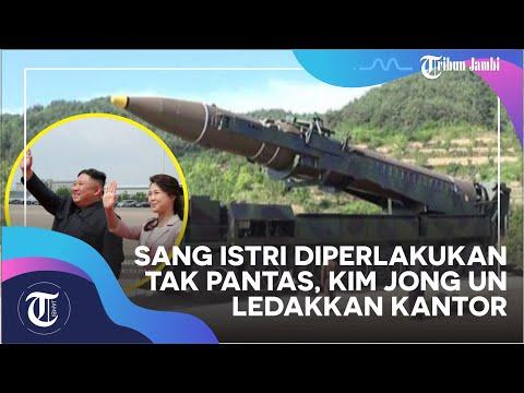 Sang Istri Diperlakukan Tak Pantas, Kim Jong Un Ledakkan Kantor Penghubung Antar-Korea