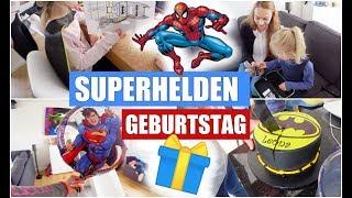 Leonas 6. Geburtstag | Superhelden Party & Geschenke | Isabeau
