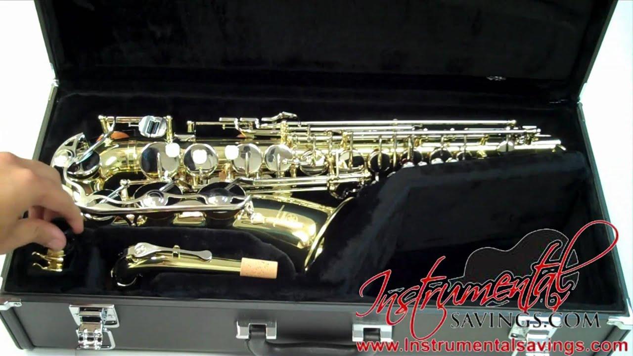 d6a5f9d73c Yamaha YAS-23 Alto Saxophone   YAS-200AD Alto Saxophone - YouTube