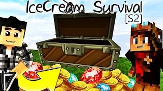 💰 LA CHASSE AUX TRÉSORS COMMENCE ! 💰  | IceCream Survival [S2] ! #Ep17
