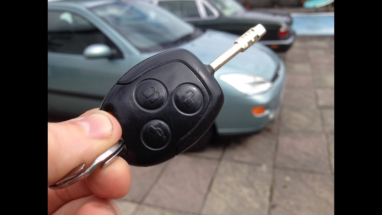Easy how to change the key battery in a ford focus mondeo fiesta remote fob youtube