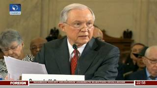 News@10: Jeff Sessions Denies KKK Sympathies 10/01/17 Pt. 4 Free HD Video
