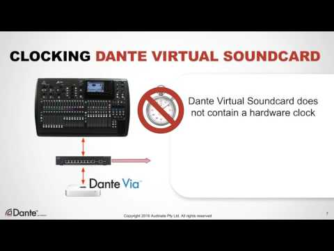 10 Dante Virtual Soundcard - YouTube