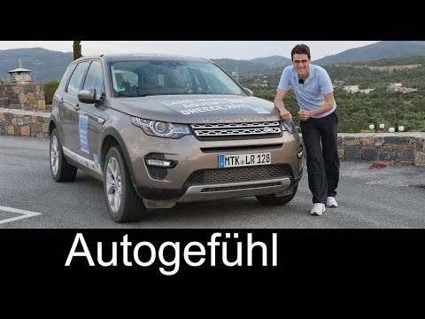 All-new Land Rover Discovery Sport HSE FULL REVIEW with offroad test driven - Autogefühl