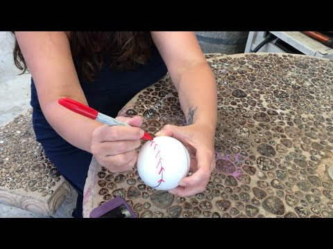 How To Make A Gender Reveal Baseball