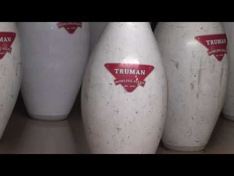 Professional Bowlers Visit The White House and Harry S. Truman Lanes