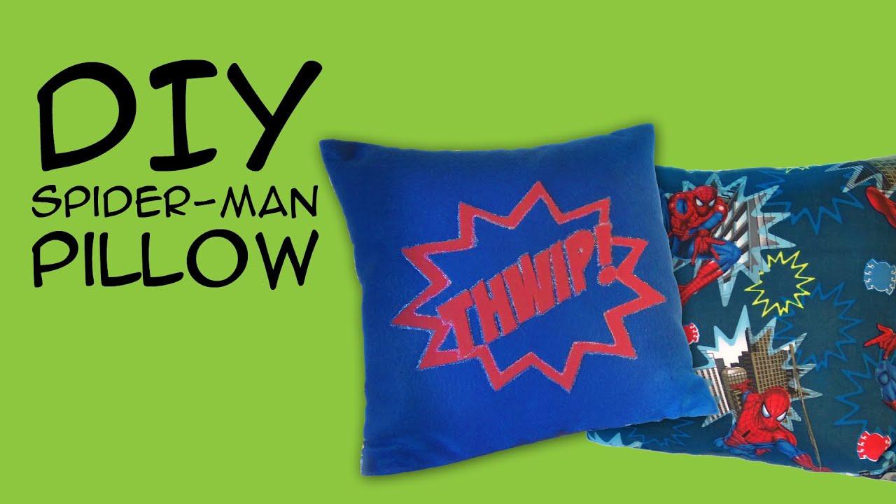 Super Hero Room Decor Spider Man Pillow DIY Marvel ics Fandom