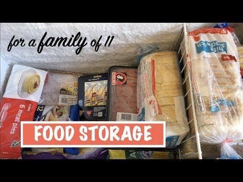 Storing FOOD for a Family of 11 | Australian Family Vlog