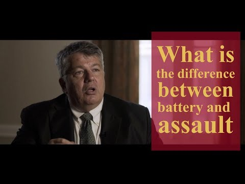What is the difference between battery and assault? | Pennsylvania Criminal Defense Lawyers