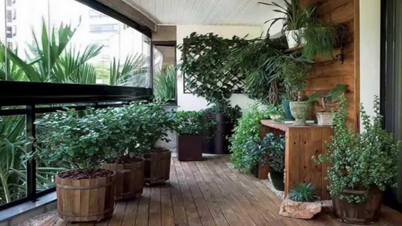 Apartment Gardening *Apartment Balcony Garden Ideas ... on Apartment Backyard Patio Ideas  id=47591