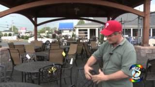 Cast Aluminum Outdoor Furniture Philadelphia Area - Ricks Sheds
