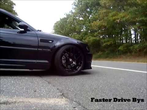 BMW E46 M3 Stock vs Supersprint Race exhaust - YouTube