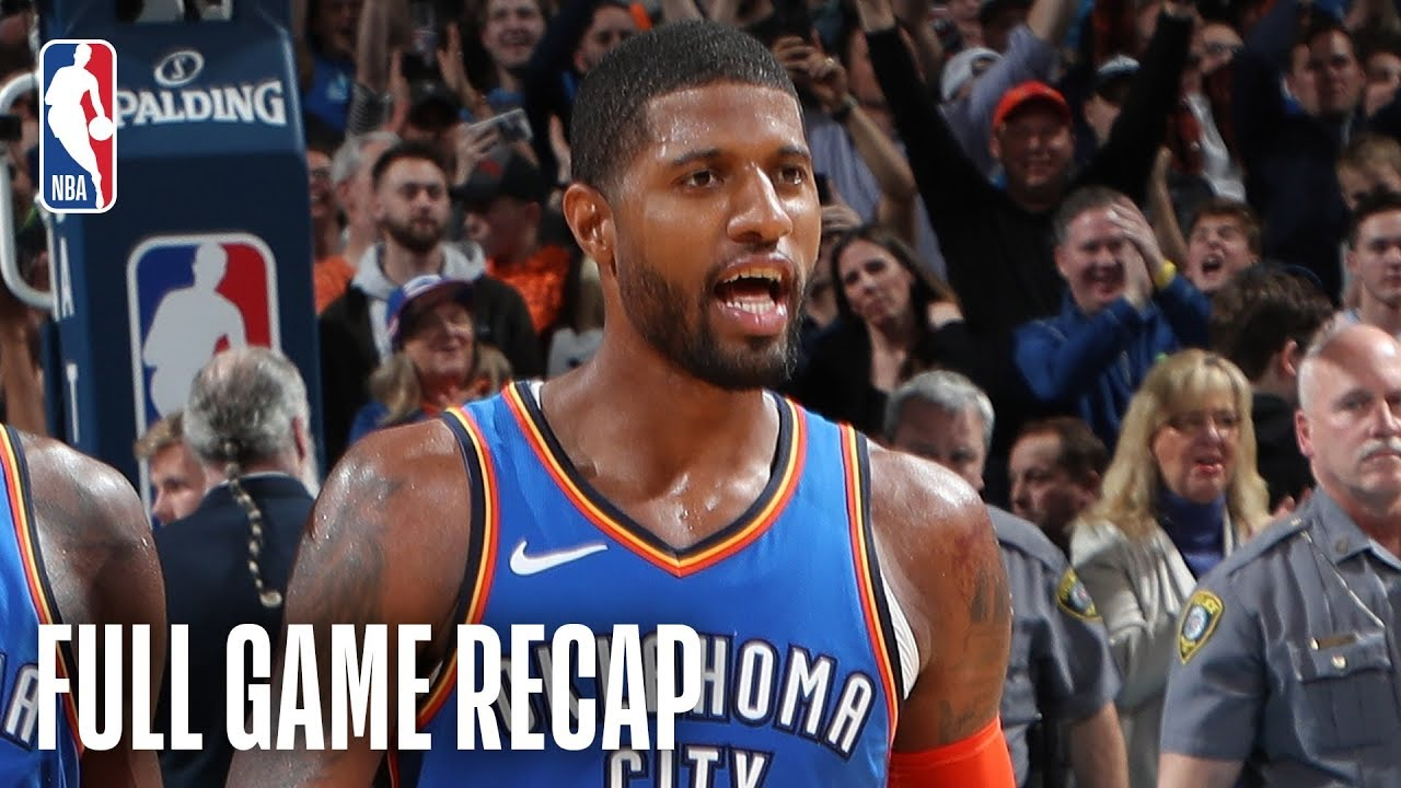 a4c7ba03bd4e35 JAZZ vs THUNDER | Russell Westbrook & Paul George Combine For 88 | February  22, 2019 [VIDEO]