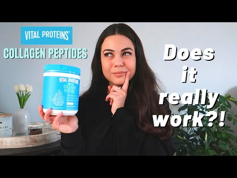 A Nurse's Review on Vital Proteins Collagen Peptides // Hair Growth & Weight Loss?!