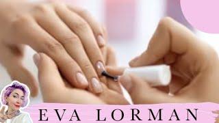 Как правильно и быстро подготовить натуральные ногти к наращиванию! Ева Лорман