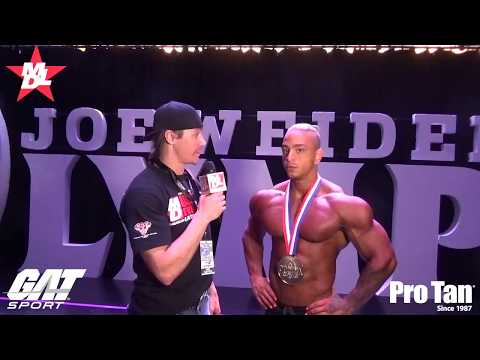 David Guerrero Absoluto Most Muscular Physique Olympia Amateur