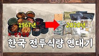 한국 전투식량의 유래와 역사