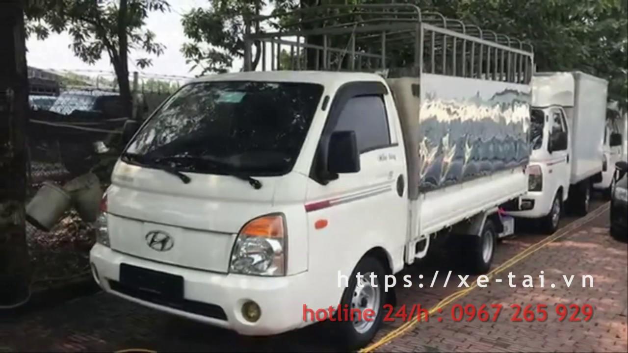 Hyundai porter II bãi nhập khẩu thùng bạt 1 tấn máy cơ đời 2007 - YouTube