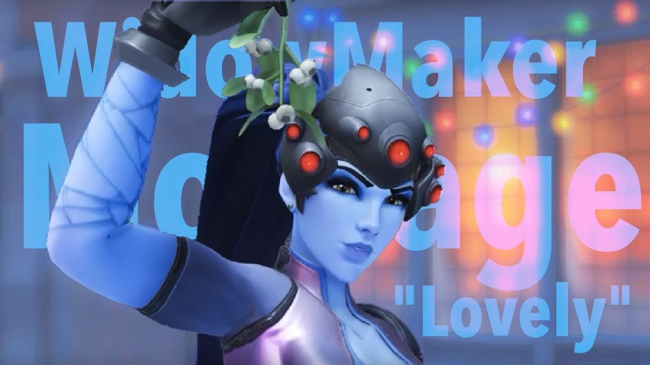 Overwatch Widowmaker Gameplay!Since when have I been a