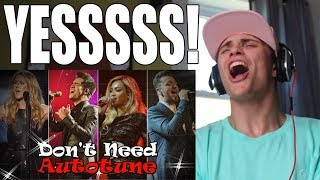 Top 12 Singers Who Really Don't Need Autotune REACTION