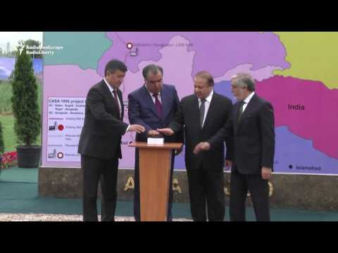 Four Countries Launch $1 Billion Power Project In Tajikistan