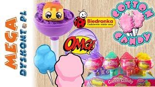 Cotton Candy  Zakupy w Biedronce  Wata cukrowa dla dzieci  Zuru