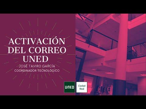 ACTIVAR EL CORREO UNED  (José Taviro)
