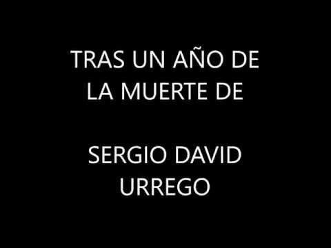 Palabras En Conmemoración Al Aniversario Del Fallecimiento De Sergio Urrego